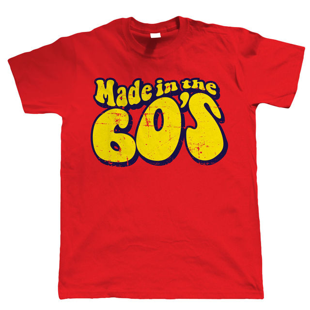 Made In The 60s Mens Funny 50th Birthday TShirt New TShirts Tops Tee
