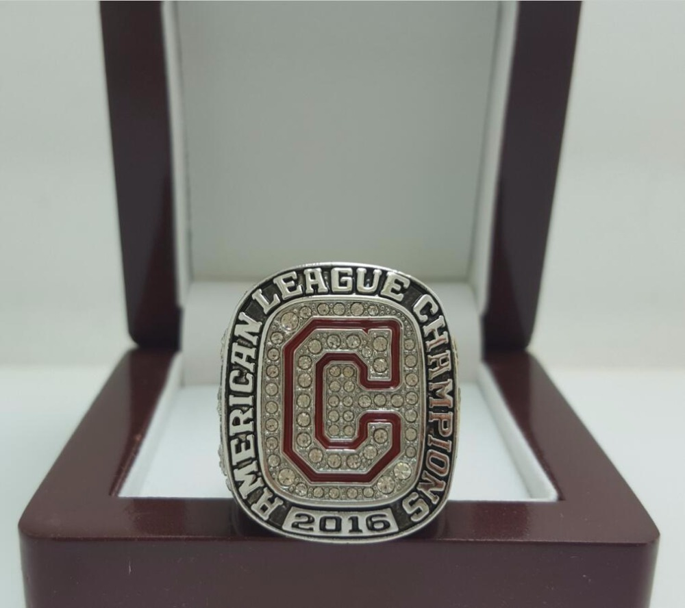 2016 Cleveland indians American League AL World Seires Championship Ring 11S Alloy solid in stock