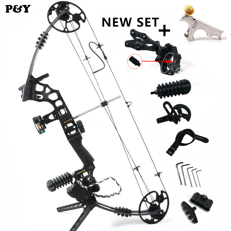 купить Original Jun Xing Hunting Compound Bow Archery Fishing with 20-70 Lbs Draw Weight Right And Left for Adult Outdoor Shooting по цене 18298.13 рублей