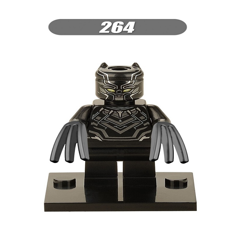 Single Sale Super Heroes Black Panther Captain America 3 Civil War She Hulk Catman Building Blocks Children Gift Toys XH 264 a lingis community of those who have nothing in common