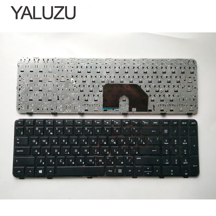 YALUZU Russian Laptop Keyboard For HP Pavilion DV6-6000 DV6-6100 DV6-6200 DV6-6b00 Dv6-6c00 RU Layout High-quality Frame Black