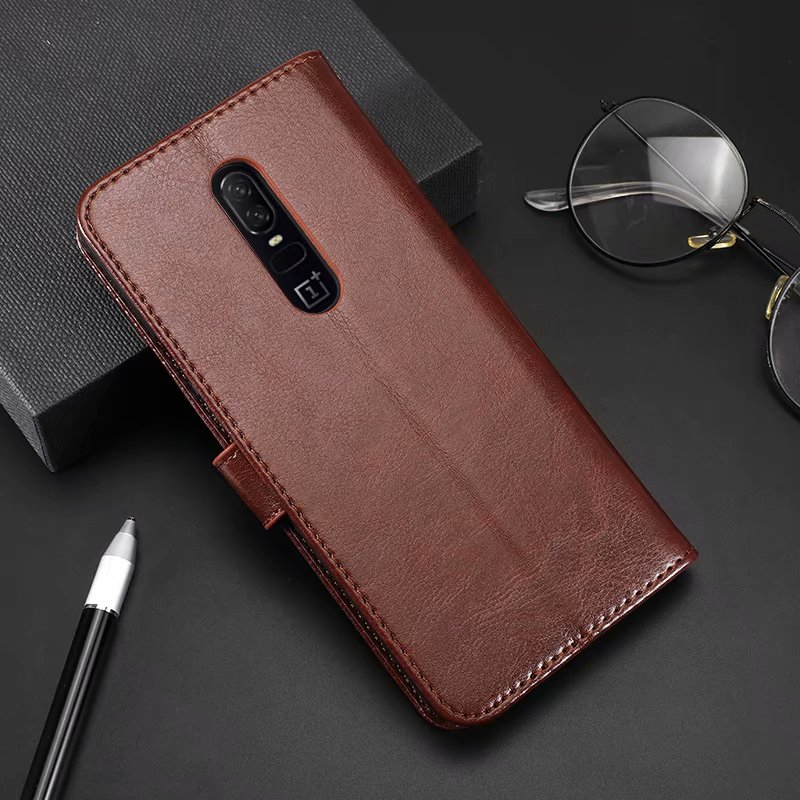 Luxury Retro Wallet Stand Flip Leather Case For <font><b>Oneplus</b></font> 1 <font><b>One</b></font> A001/Two 2 3 3T Three A003 <font><b>Oneplus</b></font> 7 Pro Wallet <font><b>Back</b></font> Case image