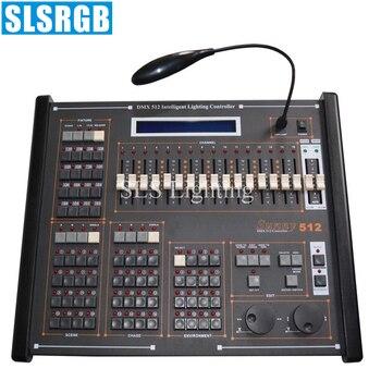 SLS-1317 sunny 512 console Sunny 512 DMX controller,scanner lighting console Professional dj console/ Sunny 512 console DMX 512 фото