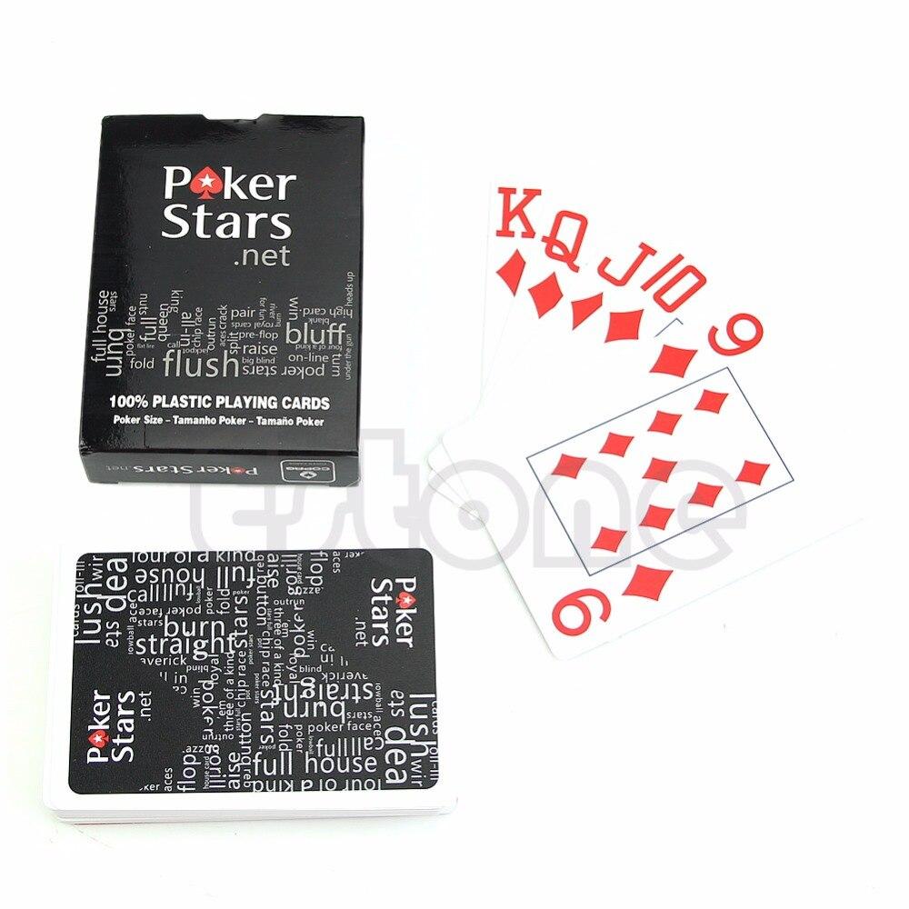 Free shippingTexas Poker Plastic Playing Cards Sealed Standard Casino Regular Size
