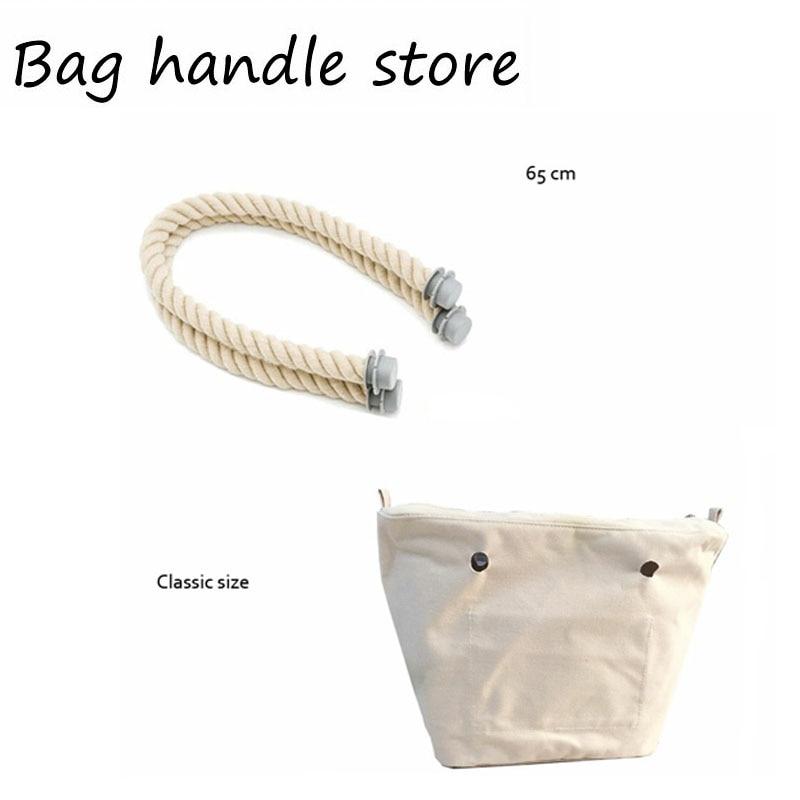1 stücke leinwand futter innenbeutel einsatz für klassische tasche EVA silikon O big bag handbag totebag 2017
