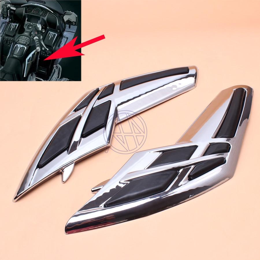 Motorcycle Fairing Tank Trim For Honda Goldwing 1800 GL1800 2001-2011 Motorbike Accessories Part Chrome