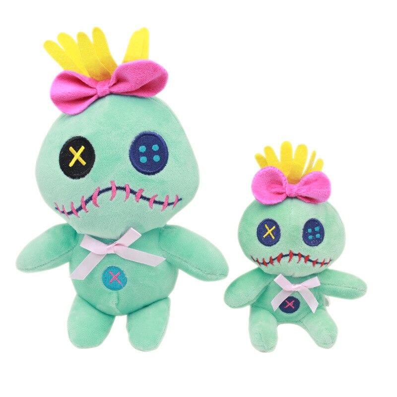 12 cm/22 cm Kawaii Lilo et point Scrump jouets en peluche poupée Stich peluche douce peluches jouets pour enfants enfants cadeau d'anniversaire