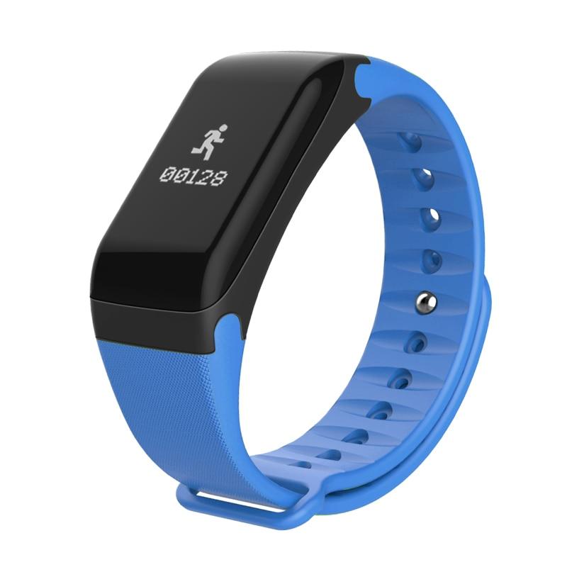 Smart Bracelet T1 Wristband Blood Pressure SmartBand Caller name display Pulse O