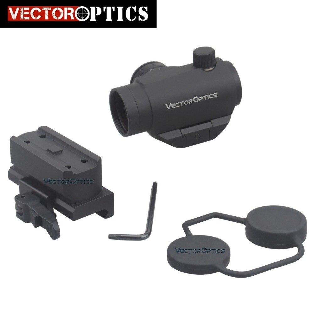 Vector Optics Compact Mini 1x22 QD Pistol Reflex Red Dot Gun Sight Scope Fit Picatinny Rail