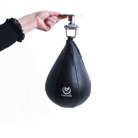 2017 Boxing Pear Speed Ball Bag Sport Speed Bag Punch Exercise Fitness Training Ball Without Hanging