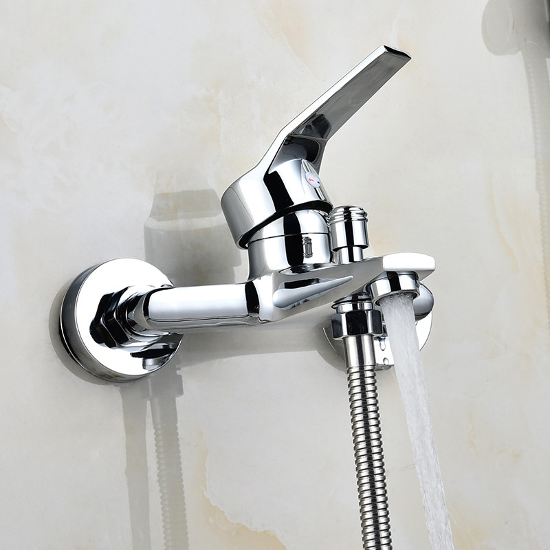 New Hot and cold water Bathroom shower faucet thermostat rain shower Bathtub Faucets Concealed Mixing valve switch tap цена