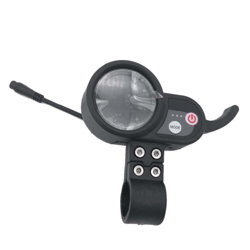 Hot-Electric Scooter Lcd Monitor Scooter Color Screen Instrument Accelerator Electric Scooter Accessories Suitable For 48V Sco
