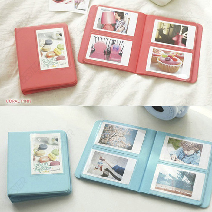 Fujifilm Instax Mini 8 Photo Album 64 Slots Pieces Of Monet Multi