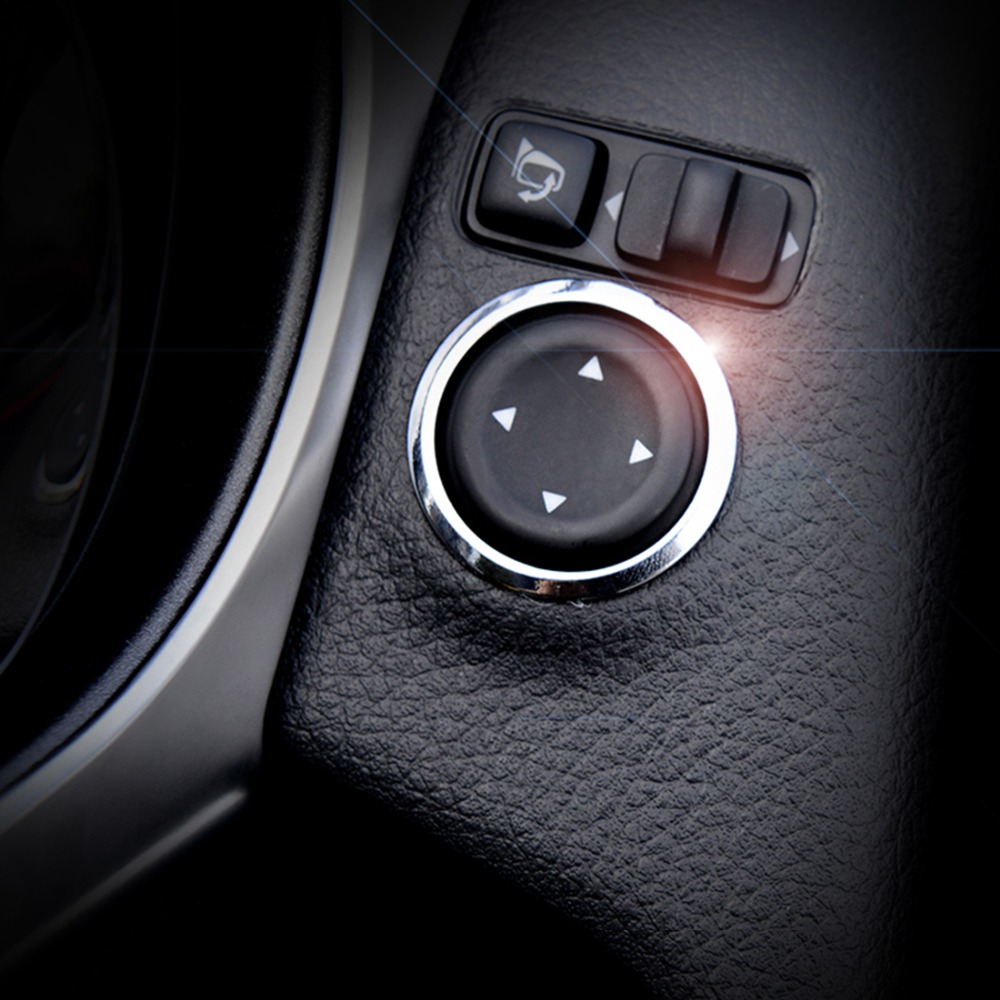 Window Switch Button Trim Cover For Nissan Rogue X-trail T32 2014 2015 2016 Window Button Sticker For Nissan X-trail 2017 2018