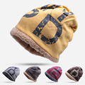 New Fashion Women Warm Winter Hat Men Skullies Beanies Knitted Hat Female Cap For Woman And Man Unisex Beanie Cap Dorp Shipping