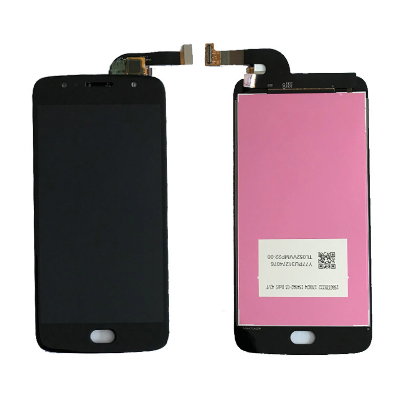 For Motorola Moto G5S <font><b>LCD</b></font> Display and Touch Screen Digitizer Panel Assembly 5.2