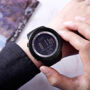 Image 5 - Мужские цифровые часы, водонепроницаемые часы с компасом, калорий, секундомером, спортивные наручные часы, модный мужской браслет, топ бренд, часы SKMEI