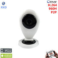 Cheapest Home Smart IP Camera WIFI HD IR SD Card Wireless IP Camera 720P Onvif P2P