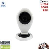 Cheapest Home Smart IP Camera WIFI HD IR SD Card Wireless IP Camera 720P Onvif P2P