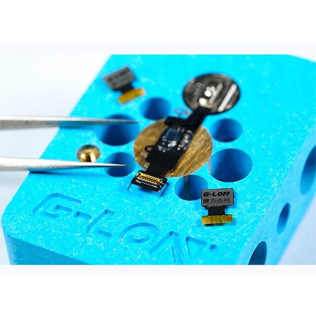 FIXFANS accueil bouton tactile ID empreinte digitale réparation câble flexible connecteur FPC pour iPhone 7 7plus 8 8plus outil de réparation de téléphone Mobile