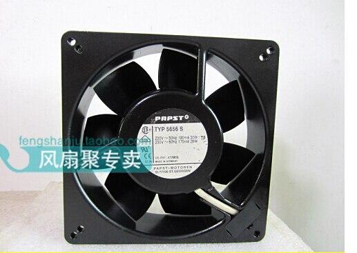 The original German PAPST TYP 5656 S 230V 13.5cm 13538 135*135*38M metal high temperature fan