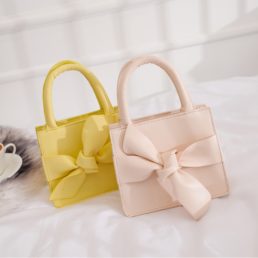 DUSUN Women Handbag Cute Candy Bow Waist Bag Designer Small Crossbody Jelly Bag Fashion Women PU Leather Messenger Shoulder Bags все цены