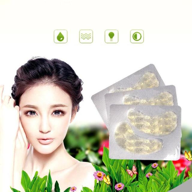 2pcs Moisturizing Anti-aging Gold Collagen Eye Mask Eye Patches Anti-Puffiness Dark Circle Eyes Care Tools