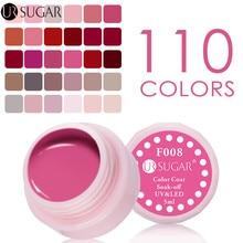 UR SUGAR Color Gel UV Gel Polish Paint UV led Glitter Pure Nail Gel Lacquer Soak Off LED Long Lasting Nail Art Design Varnish