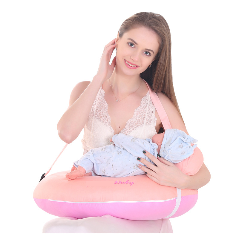baby 0-18month breastfeeding pillow nursing pillow u shaped pillow for babies toddler newborn Protect the waist legs Thin belt deluxe edition of the baby child health pillow space memory pillow