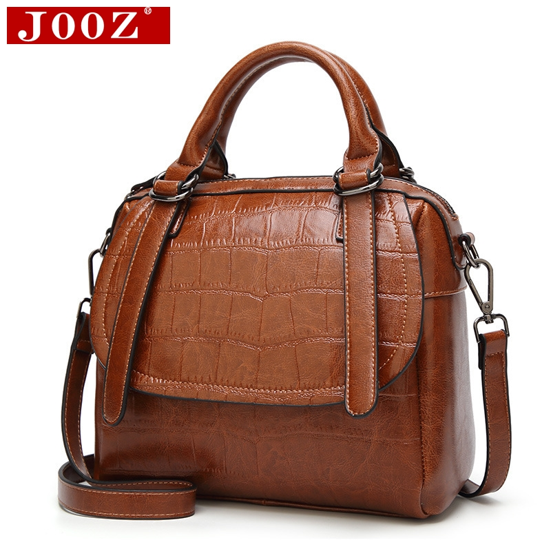 JOOZ Boston Women Brand Bag Crocodile pattern party tote bag women evening clutch messenger bag designer pillow Leather handbags jooz brand women 100
