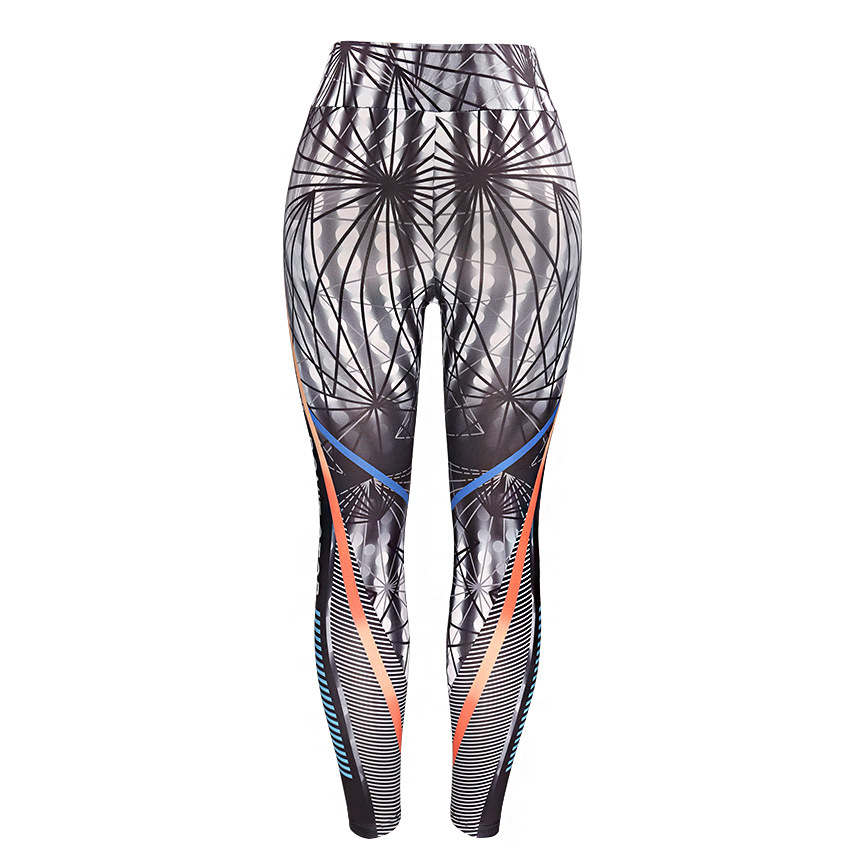 Fitness Women Leggings 3D Printed Slim Jeggings High Waist Sporting Leggings Elastic Skinny Long Pants 5