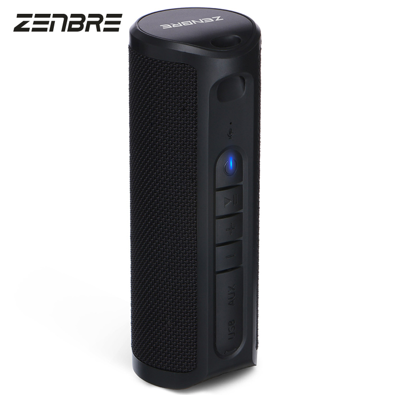 Waterproof Bluetooth Speakers,ZENBRE Z4 10W Dual-Driver Bluetooth 4.1 Portable Speaker with 20h Play-time, True Wireless Stereo