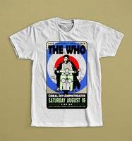THE WHO FROM SHEPHERD S BUSH LONDON ENGLISH ROCK BAND T SHIRT S M L XL
