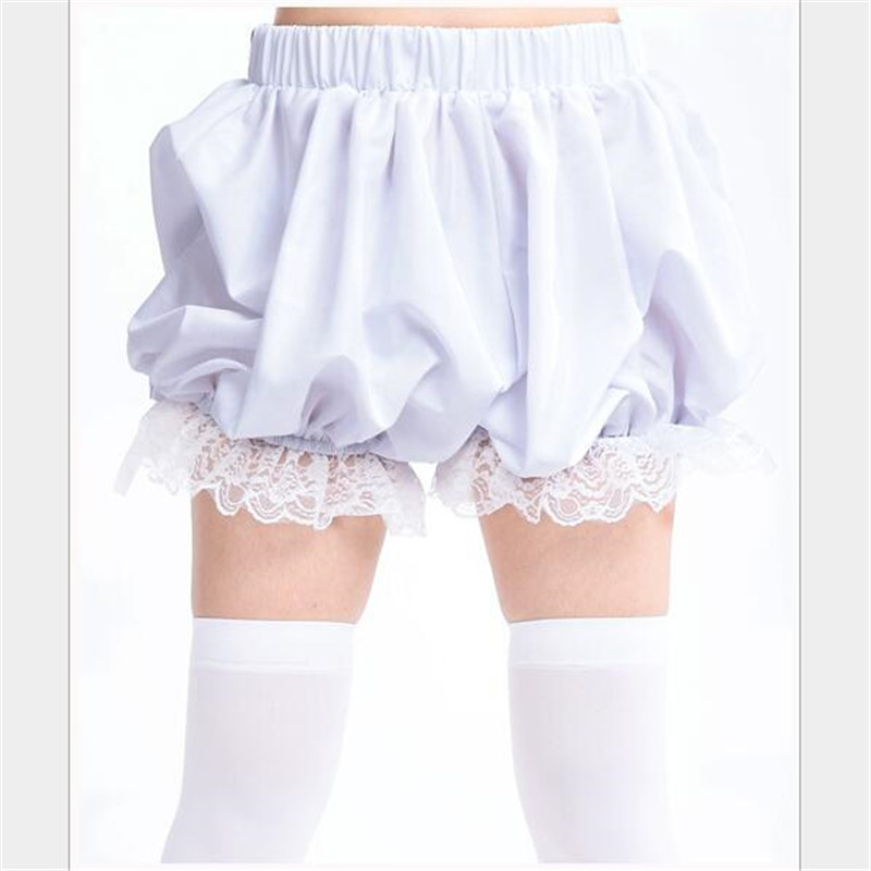 Lovely Girl Pumpkin Pants Lantern Pants Simple Underpants Cosplay Costume Adult Girls Free Shipping