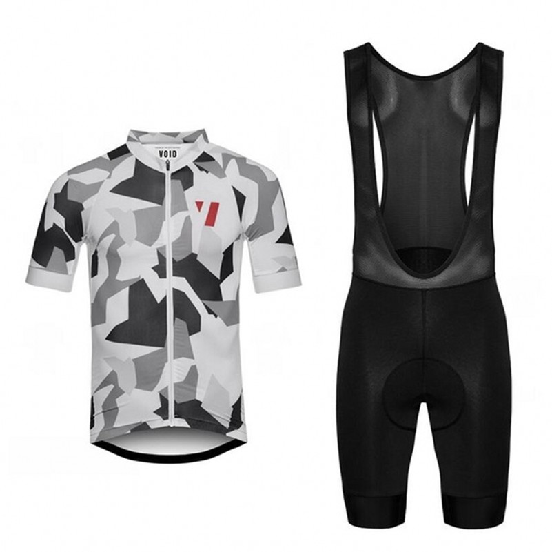 2017 VOID Cycling Jersey and Bib Shorts ropa ciclismo Men's Bicycle Set Cycling Cothing With 4D Gel Pad Italy MITI Non-slip rusuoo k01007 bicycle cycling jersey bib shorts set white black size xxl 180 185cm