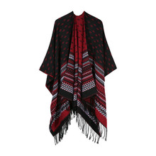 TOLINA Various styles Women Knitted Cashmere Poncho Capes Shawl Cardigans Sweater