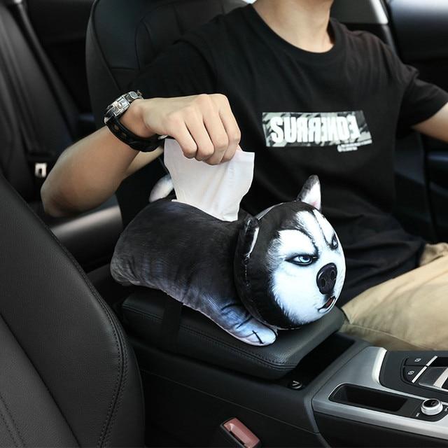 brixini.com - Puppy Tissue Holder Box