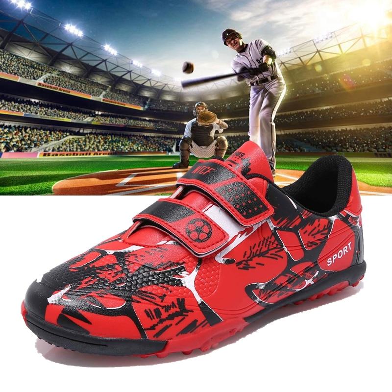 Baseball Shoes Softball-Wear Kid Youth Rubber Men Nail Non-Slip Training Professional