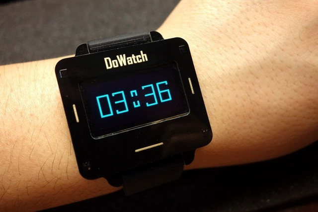 Dowatch smart watch diy open source maker kit assembled