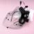 O Projeto Original Preto Véu de Noiva Chapéus Com Penas e Flores Decoração Festa de Casamento Romântico Pequenos Chapéus De Noiva