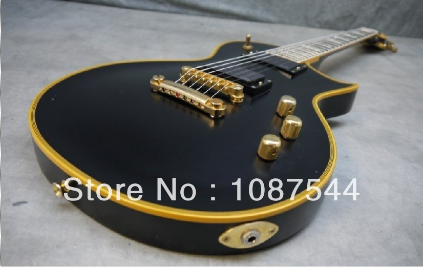 Best selling Hot Ebony fingerboard ESP Standard Series Eclipse II Vintage Black Electric Guitar