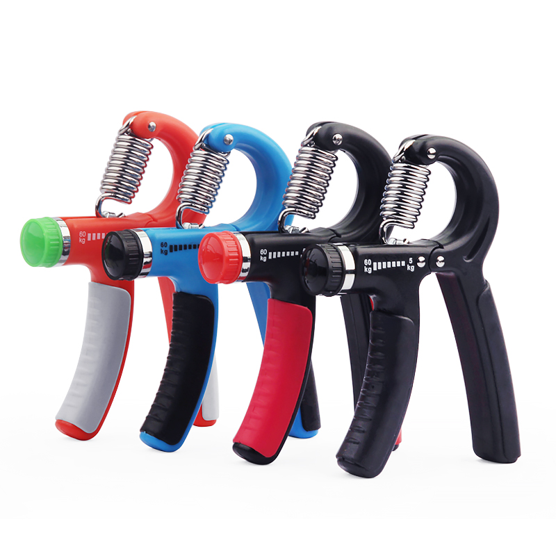 5-60Kg A-Type Adjustable Heavy Gripper Gym Power Fitness Exerciser Expander Wrist Forearm Hand Grip Pinch Meter Portabl
