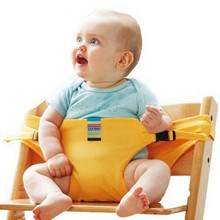 New Baby Infant Portable High Lunch Chair Belt Feeding Seat – Infant Kiskise Travel Seat belt free ship