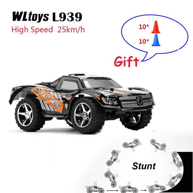 WLtoys L939 Carro RC Deriva RC Alta Velocidade DO Veículo 2.4G 5 Nível de Mudança de Velocidade Proporcional Completa garoto de Direção do Controle Remoto presente