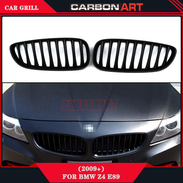 2009 Bmw Z4: Matt Black Replacement Grill For 2009 2016 Bmw Z4 E89