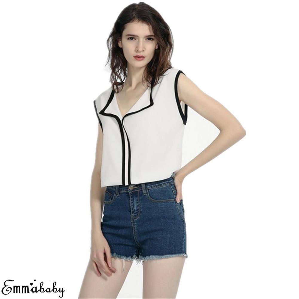 Women Blouses 2019 Fashion Long Sleeve Turn Down Collar Office Shirt Chiffon Blouse Shirt Casual Tops Plus Size Blusas Femininas 6