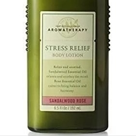 Bath & Body Works Aromatherapy Sandalwood Rose Nourishing Relax Body Lotion 6.5 oz