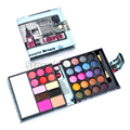 Best seller! Pro pequeno Makeup Eyeshadow Palette moda sombra maquiagem sombras cosméticos New 56 g para as mulheres frete grátis