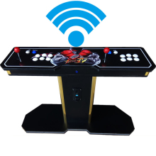 Pandora Box 6 1300 in 1 Wireless arcade game Stick controller 2 Players joystick console can add 3000 game fba mame ps1 3d game все цены