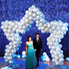 Star Wedding Balloon Arch Kit Star Shape Balloon Stand Long Balloon DIY Arch Frame Rental